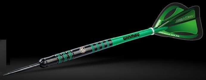 Winmau Brendan Dolan 23G Onyx Coating 90% Tungsten Darts