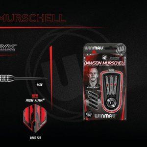 Winmau Dawson Murschell 22G 90% Tungsten Onyx Coating Darts