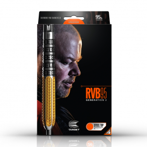 RVB 95 Generation 2  25g 95% Tungsten Steeltip Darts