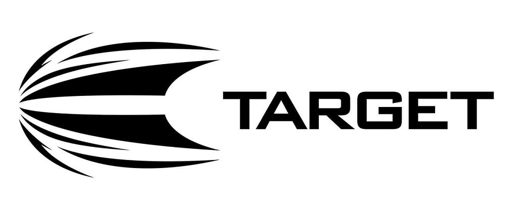 target darts black logo